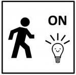 Icon Nachtlicht mit Bewegungsmelder