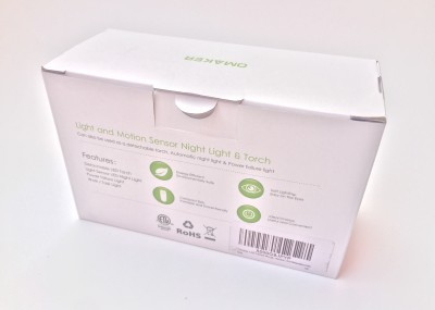Omaker M470 Nachtlicht Bewegungsmelder Taschenlampe