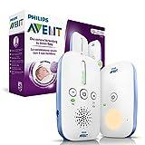 Philips Avent SCD501/00 DECT Babyphone (Smart Eco Mode, Nachtlicht)